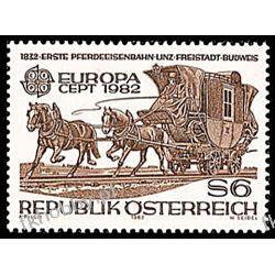 Austria 1982 Mi 1713 ** Europa Cept Konie Ssaki