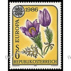 Austria 1986 Mi 1848 ** Europa Cept Kwiaty Sport