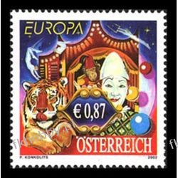 Austria 2002 Mi 2376 ** Europa Cept Cyrk Pozostałe