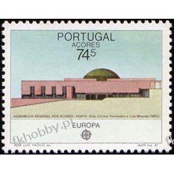 Portugalia Az 1987 Mi 383 ** Europa Cept Architektura Pozostałe