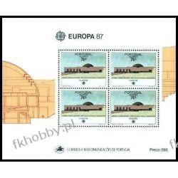 Portugalia Az 1987 Mi BL 8 ** Europa Cept Architektura Pozostałe