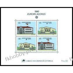 Portugalia Az 1990 Mi BL 11 ** Europa Cept Architektura Poczta