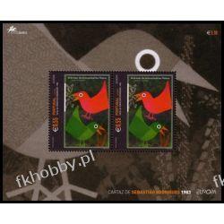 Portugalia Az 2003 Mi BL 25 ** Europa Cept Plakat Ptak Pozostałe