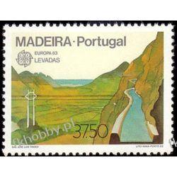 Portugalia Ma 1983 Mi 84 ** Europa Cept Filatelistyka