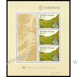 Portugalia Ma 1983 Mi BL 4 ** Europa Cept Filatelistyka