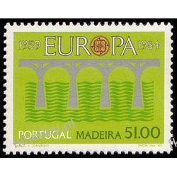 Portugalia Ma 1984 Mi 90 ** Europa Cept Most Filatelistyka