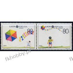 Portugalia Ma 1989 Mi 125-26 ** Europa Cept Dzieci Filatelistyka