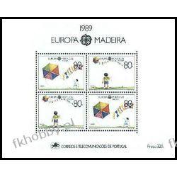Portugalia Ma 1989 Mi BL 10 ** Europa Cept Dzieci Filatelistyka