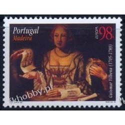 Portugalia Ma 1996 Mi 182 ** Europa Cept Malarstwo Druk wklęsły