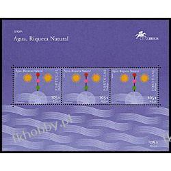 Portugalia Ma 2001 Mi Bl 23 ** Europa Cept Woda Flora