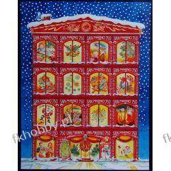 San Marino 1996 Mi ark 1682-97 ** Boże Narodzenie Pozostałe