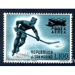 San Marino 1956 Mi 561 ** Sport Hokej Samolot Kolekcje