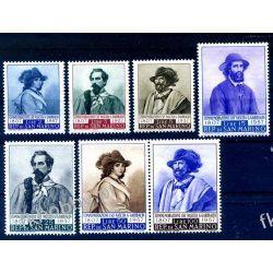 San Marino 1957 Mi 577-83 ** Giuseppe Garibaldi Kolekcje