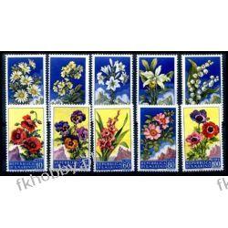 San Marino 1957 Mi 567-76 ** Kwiaty Pozostałe