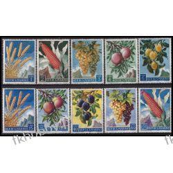 San Marino 1958 Mi 599-03 ** Owoce Flora