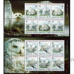 Grenlandia 1999 Mi HB 17-18 ** Ptaki Sowa Kolekcje