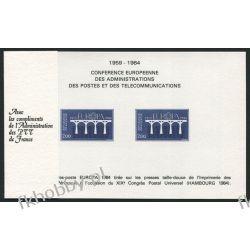Francja 1984 Mi 2441-42 ND ** Europa Cept Most Kolekcje