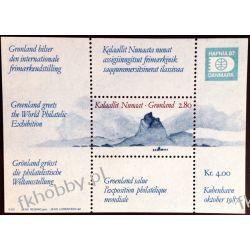Grenlandia 1987 Mi BL 2 ** Morze Góra  Pozostałe