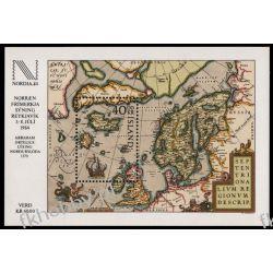 Islandia 1984 Mi BL 6 ** Słania Kartografia Statki Polonica