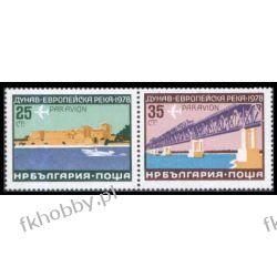 Bułgaria 1978 Mi 2652-53 ** Europa Cept Most Statek a Kolekcje