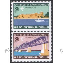 Bułgaria 1978 Mi 2652-53 ** Europa Cept Most Statek c Pozostałe