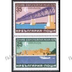 Bułgaria 1978 Mi 2652-53 ** Europa Cept Most Statek d Kolekcje