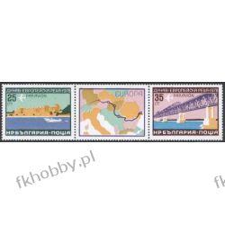 Bułgaria 1978 Mi 2652-53 zf1 ** Europa Cept Most Statek Filatelistyka