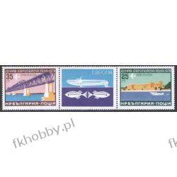 Bułgaria 1978 Mi 2652-53 zf2 ** Europa Cept Most Statek Filatelistyka