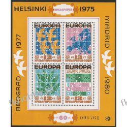 Bułgaria 1979 Mi BL 84 ** Europa Cept Ptaki Mapa Flora