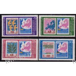 Bułgaria 1982 Mi 3119-22 ** Europa Cept Gołąb Mapa Filatelistyka