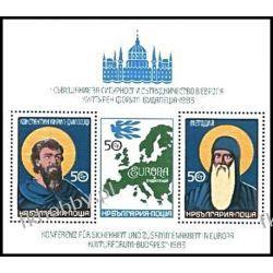 Bułgaria 1985 Mi BL 158 ** Europa Cept Cyryl i Metody Filatelistyka