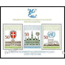 Bułgaria 1986 Mi BL 168 ** Europa Cept Architektura Filatelistyka