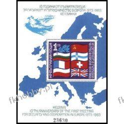 Bułgaria 1982 Mi BL 129 ** Europa Cept Gołąb Mapa Filatelistyka