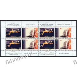 Słowenia 1995 ark 110-11 zd ** Europa Cept Śmierć Nike Malarstwo