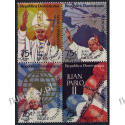 Dominikana 1984 Mi 1439-42 ** Jan Paweł II Papież (4) Tematyczne