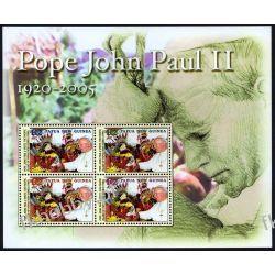 Papua i Nowa Gwinea 2005 Mi BL 35 ** Jan Paweł II Papież  Pozostałe