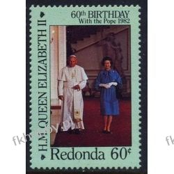 Redonda 1986 Mi ** Jan Paweł II Elżbieta Pozostałe