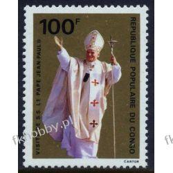 Kongo 1980 Mi 731 ** Jan Paweł II Papież Tematyczne