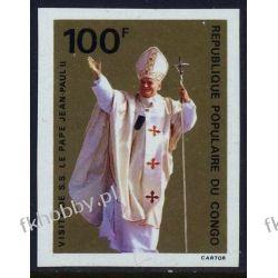 Kongo 1980 Mi 731 B ** Jan Paweł II Papież Pozostałe