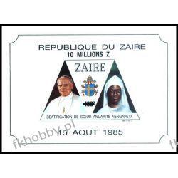 Zair 1993 Mi BL 61 ** Jan Paweł II Papież Pozostałe