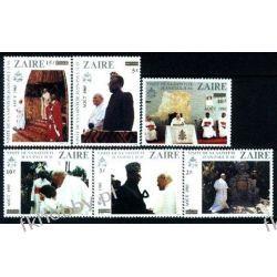 Zair 1985 Mi 897-02 ** Jan Paweł II Papież Tematyczne