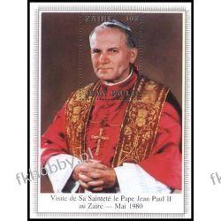 Zair 1980 Mi BL 35 ** Jan Paweł II Papież Sport