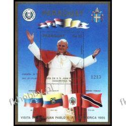 Paragwaj 1985 Mi BL 414 ** Jan Paweł II Papież