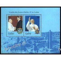 Kuba 1998 Mi BL 149 ** Jan Paweł II Papież Kolekcje