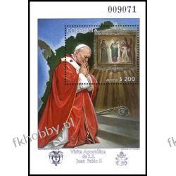 Kolumbia 1986 Mi BL 39 ** Jan Paweł II Papież