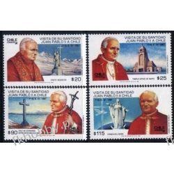 Chile 1987 Mi 1173-76 ** Jan Paweł II Papież Kolekcje