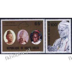 Górna Wolta 1980 Mi 782-83 ** Jan Paweł II Papież