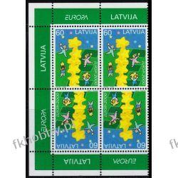 Łotwa 2000 Mi 519 x4 ** Europa Cept Dzieci Pozostałe