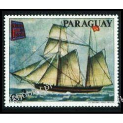 Paragwaj 1978 Mi 3098 ** Żaglowiec Statek Ssaki