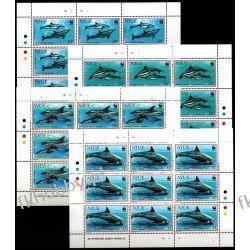 Nuie 1993 Mi ark 822-25 ** WWF Delfiny Ssaki